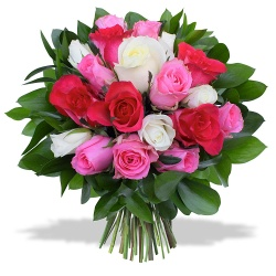 Same day delivery available with the A Thousand Kisses Bouquet.
