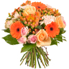 Same day delivery available with the Sunset Bouquet