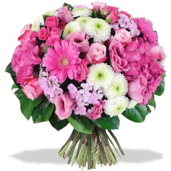 Same day delivery available with the All My Loving Bouquet