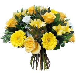 Same day delivery available with the Limonchello Bouquet.