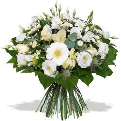 Same day delivery available with the Newlyweds Bouquet