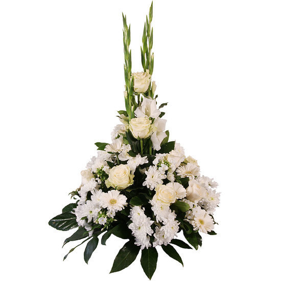 Same day delivery available with the Peregrinus - Funeral Spray