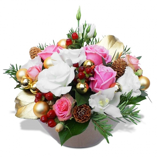 Same day delivery available with the Christmas Dream Arrangement
