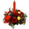 Same day delivery available with the Christmas Light Composition