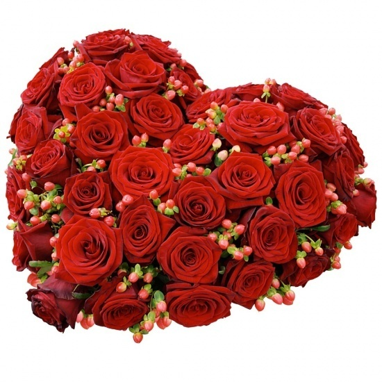 Same day delivery available with the Red Funeral Heart