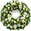 Same day delivery available with the Fidelis - Funeral Wreath