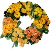 Same day delivery available with the Aurea - Funeral Wreath
