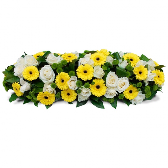 Same day delivery available with the Elegantia - Casket Spray