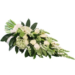 Same day delivery available with the Commemoratio - Funeral Bouquet