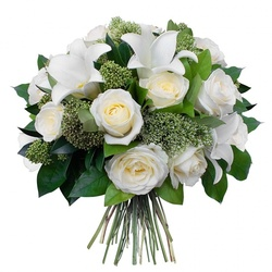 Same day delivery available with the Angel Bouquet