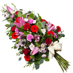 Same day delivery available with the Basium Funeral Bouquet