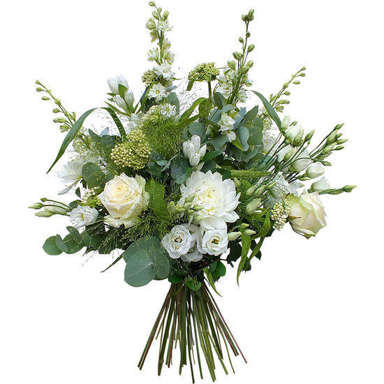 Same day delivery available with the Bianca Neve Bouquet