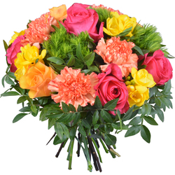 Same day delivery available with the Cancun Bouquet