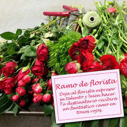 Same day delivery available with the Florist Choice - Red