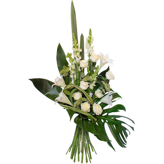 Same day delivery available with the Caelestis - Funeral Bouquet