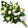Same day delivery available with the Sacris - Funeral Bouquet