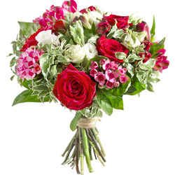 Same day delivery available with the Gulliz Bouquet