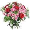 Same day delivery available with the A thousand kisses Bouquet