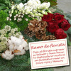 Same day delivery available with the Florist´s Choice for Christmas - Red & White