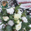Same day delivery available with the Florist´s Choice for Christmas - White