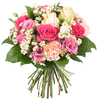 Same day delivery available with the Romantic Novel Bouquet