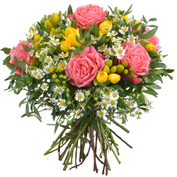 Same day delivery available with the Our Secret Bouquet