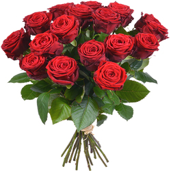 Same day delivery available with the Red Roses XL Bouquet