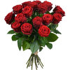 Same day delivery available with the Saint George´s Red Roses Bouquet