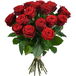 Same day delivery available with the Red Roses Bouquet