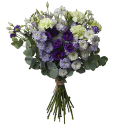 Same day delivery available with the Night silent Bouquet