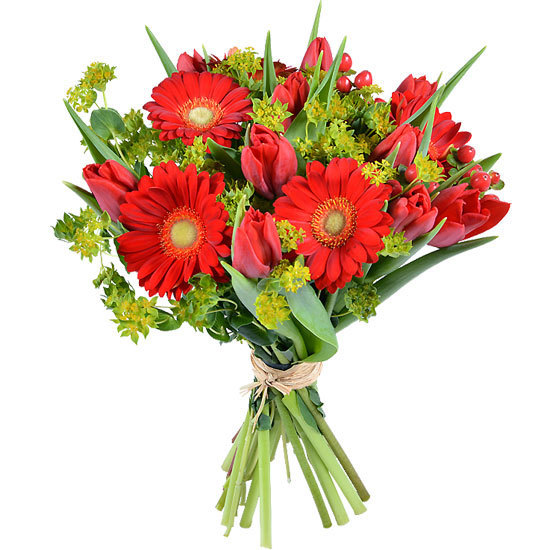 Same day delivery available with the Flush Bouquet