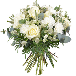 Same day delivery available with the Tristitia Funeral Bouquet