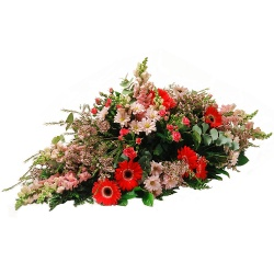 Same day delivery available with the Pacem - Funeral Spray